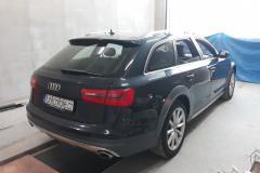 Audi A6 Allroad před celopolepem