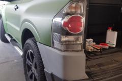 Mitsubishi Pajero před polepem