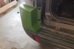 Mitsubishi Pajero po opravě nárazníku